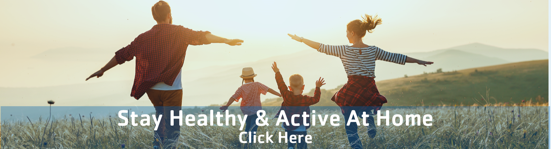 Healthy at Home Homepage Banner